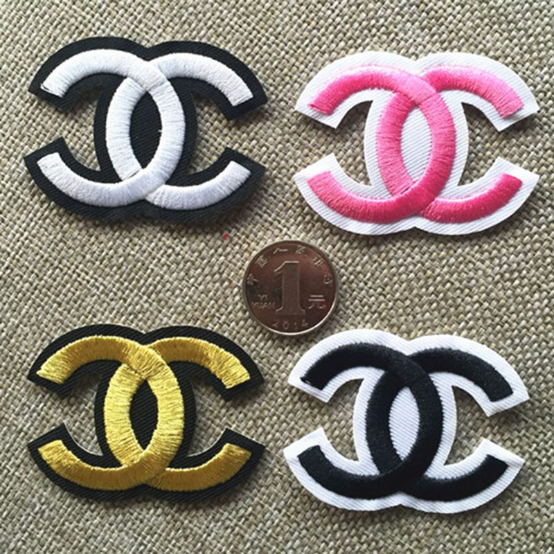 2016 New 20pcs/lot logo Patches For Clothes Embroidered Patch design your idea Accessory Badge Applique(China (Mainland))