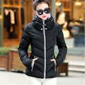 2016 New Fashion Down Parkas Warm Winter Coat Women Light Thick Winter Plus Size Hooded Jacket