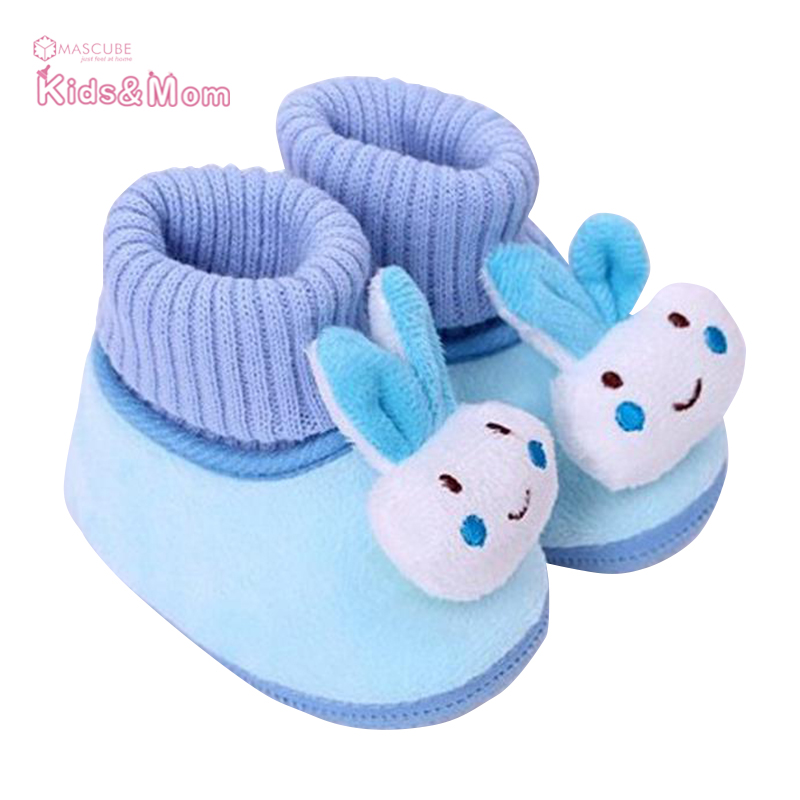New Winter Infant Boy Girl Toddler Soft Soled First Walker Newborn Baby Cotton-padded Shoes Warm Pre-walker Shoes(China (Mainland))