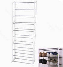 New Design Housekeeping Home 10 Shoe Boot Organizer Storage Rack Stand Shelf (China (Mainland))