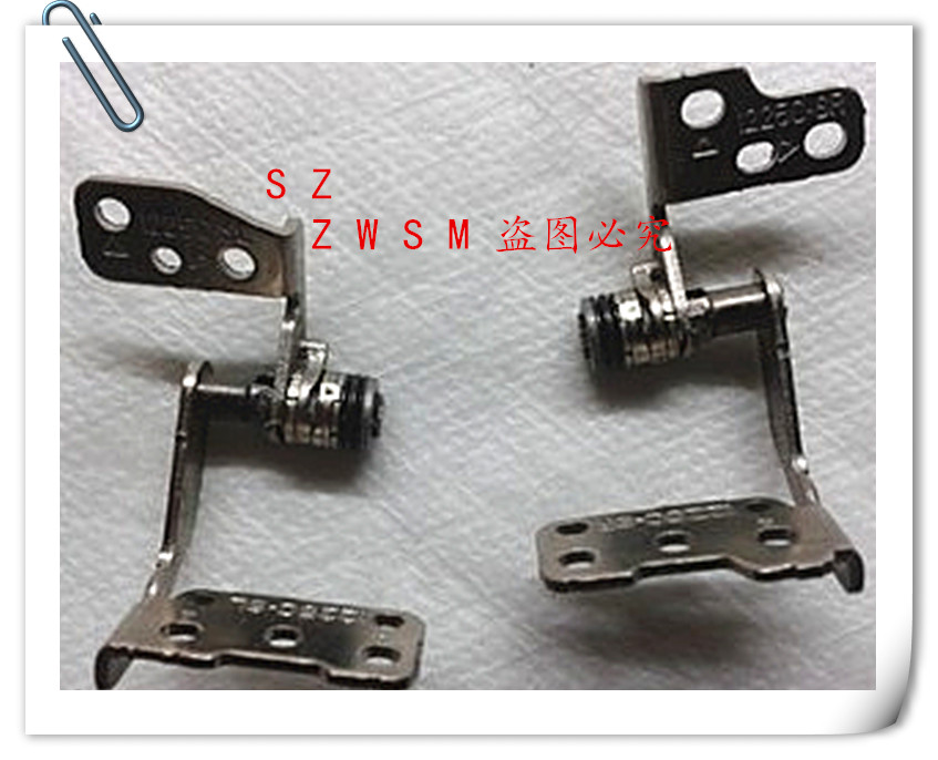 Genuine New Free Shipping original For Asus Eee PC 1225 1225E 1225C 1225B hinges Right & Left Lcd Hinge Set L+R , a pair(China (Mainland))