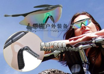 SAFETY Guard SPORT SHOOTING HUNTING GLASSES Protection Eyes NV100 X100 UV400 Sports glasses,Racing glasses