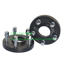 5x112-57.1mm Thickness 20mm M14xP1.5 Forget Alloy Sport Car Wheel Spacer Tire Gasket (one pair with nuts )(China (Mainland))