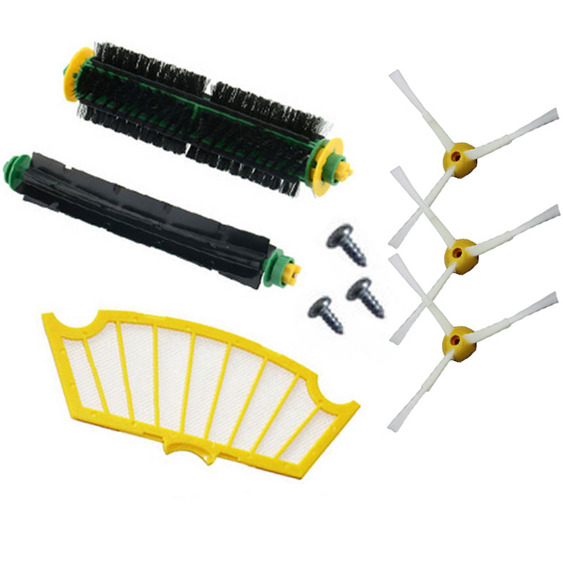 Filter Side Brush for Irobot Roomba 500 Series 510 530 540 555 560 570 580 590 595 Vacuum Cleaner Parts(China (Mainland))