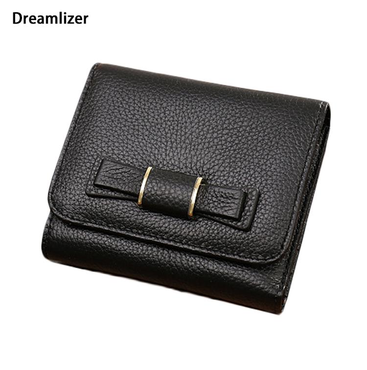 Dreamlizer Original Mini Leather Women Coin Purse Wallet 100% First Class Cow Leather Wallet Women Purse Trifold Female Purse<br><br>Aliexpress