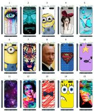 Mobile Phone Case Hot 1pc Minions Breaking Bad Hybrid Design Protective White Hard Case For ipod touch 6 6th Free Shipping