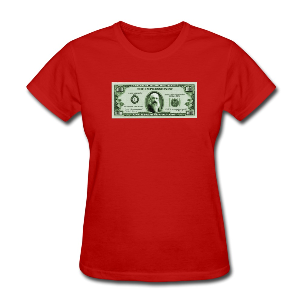 T shirt woman short sleeve check the monet make your own Build your own t shirts