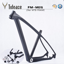 Top Tideace cheap 2016 T800 carbon mtb frame 29er Chinese full carbon mountain bike frame 17.5 or 19inch carbon bicycle parts(China (Mainland))