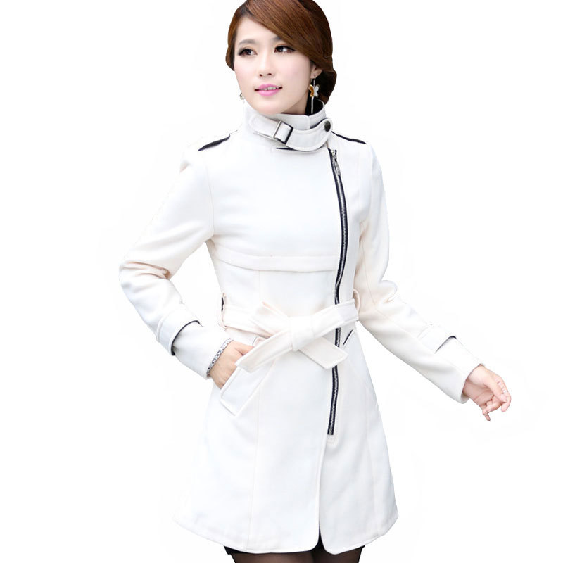 Womens Long White Winter Coats - Tradingbasis