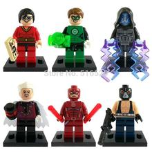 Daredevil The Collector Bane Minifigures 6pcs/lot Super Hero Figure Building Blocks Sets Toys
