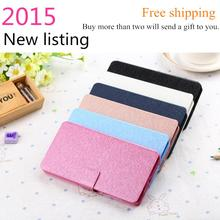 Luxury PU Leather Stand Cases Flip Cover For Lenovo A328 A328T phone case Multi-Function Leather Smartphone Cover In Stock