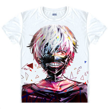 Tokyo Ghoul T-shirt kawaii Japanese Anime tshirt Handmade Manga Shirt Cute Cartoon Ken Kaneki Cosplay shirts 40398938927 tee 106