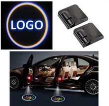 Buy New 2PCS Wireless Car Door Welcome Light Car Door Shadow LED Welcome Lamps LED Laser Ghost Shadow Projector Lamp BWM VW for $4.89 in AliExpress store