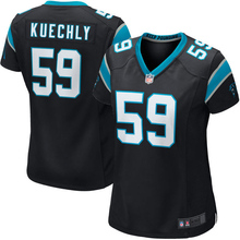 Women's Luke Kuechly Jerseys NFL Carolina Game Football Jersey - Black(China (Mainland))