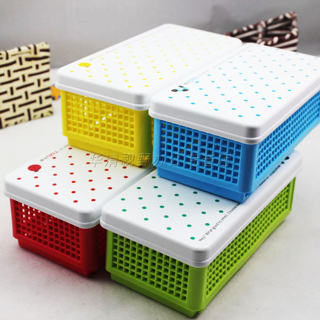Stationery folding sundries storage box cosmetics stationery storage box 4