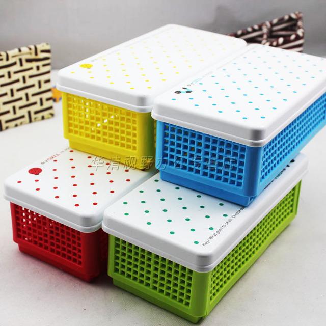 Stationery folding sundries storage box cosmetics stationery storage box 4