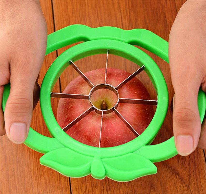Home Supplies Apple Cutter Zester Fruit Slicer Multi-function ABS+ Stainless Steel Kitchen Cooking Vegetable Tools Peelers(China (Mainland))