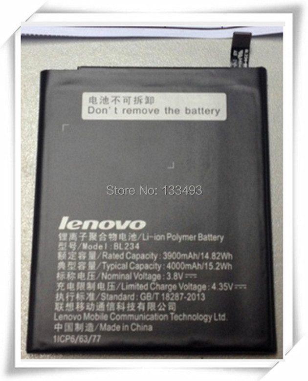 Buy 100% Original Lenovo BL234 Battery 4000mAh For Lenovo P70-T Built-in Mobile Phone Battery Free Shipping(China (Mainland))