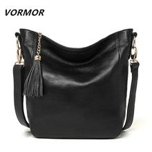New arrival leather handbags fashion shoulder bag genuine leather cross body bags brand women messenger bags(China (Mainland))