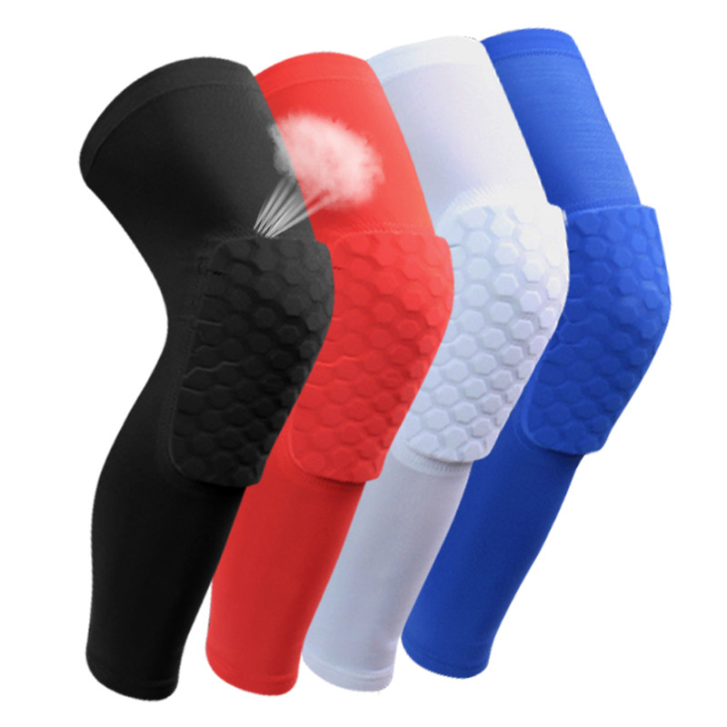 2016 Basketball knee pads Adult kneecap Football knee brace support Leg Sleeve knee Protector Calf compression knee Support1099(China (Mainland))