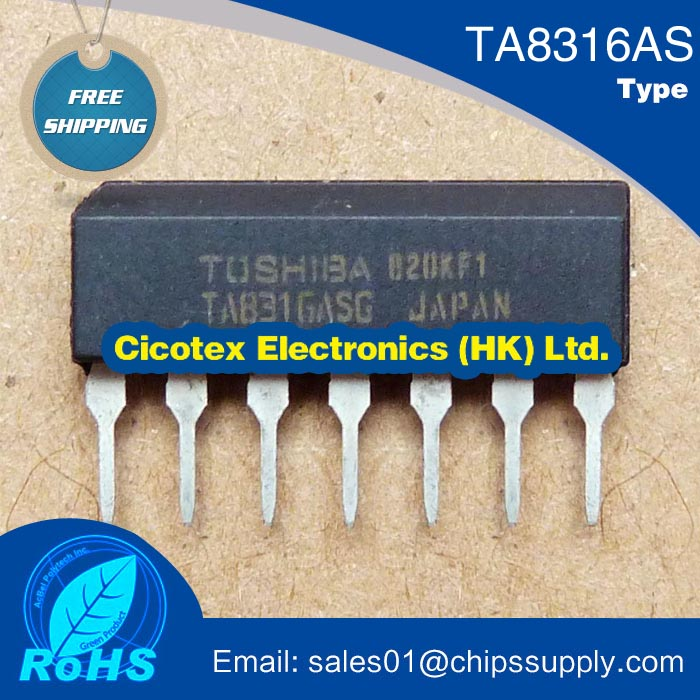 Electronic components TA8316AS TA8316 S TA8316ASG electromagnetic furnace ic chip(China (Mainland))