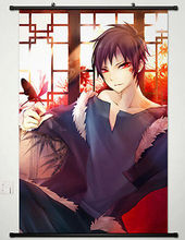 Anime DuRaRaRa!! Orihara Izaya Home Decor Japan Poster Wall Scroll Cosplay 062