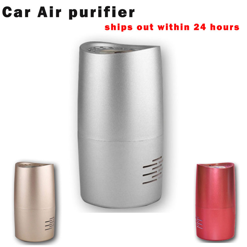 mini car ionizer air freshener purifiers DC5V 1W carbon, activated carbon filter portable oxygen concentrator(China (Mainland))