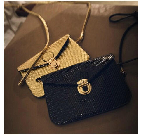 2014 European and American fashion retro toothpick marks mini packet envelope bags obliquely across the shoulder bag(China (Mainland))