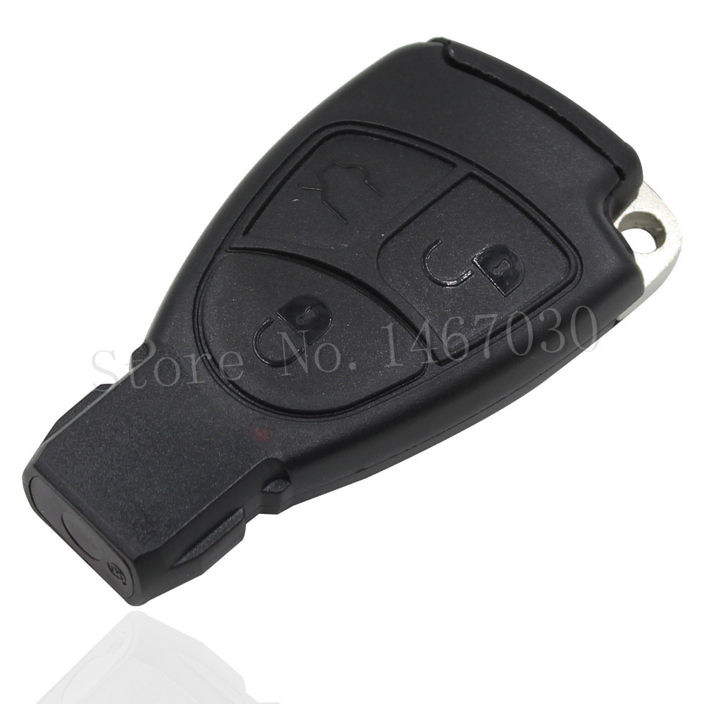 Buy larath replacement shell smart remote car key case 2 3 for Mercedes benz keys replacement cost