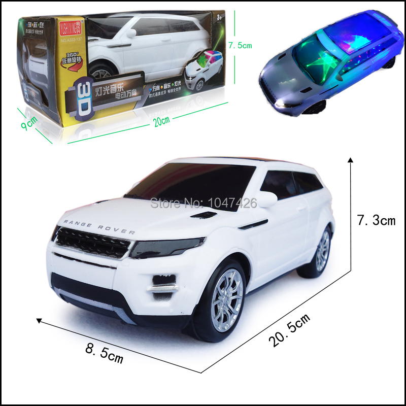 Гаджет  2015 New 1:24 Scale Simulation Electric Car With 3D Light And Music Universal Toy Cars For Kids Children None Игрушки и Хобби