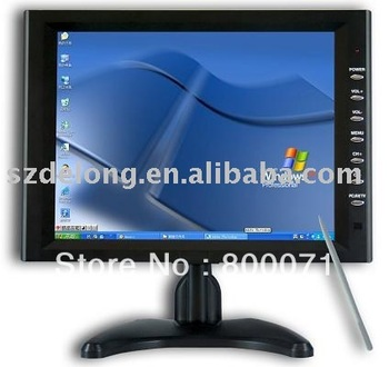 10.4 Inches Touch screen Monitor VGA/AV+free shipping