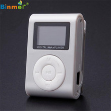 Factory Price New Arrival Hot Mini USB Clip MP3 Player LCD Support 32GB Micro SD TF Card Slot Digital Free Shipping Wholesale(China (Mainland))