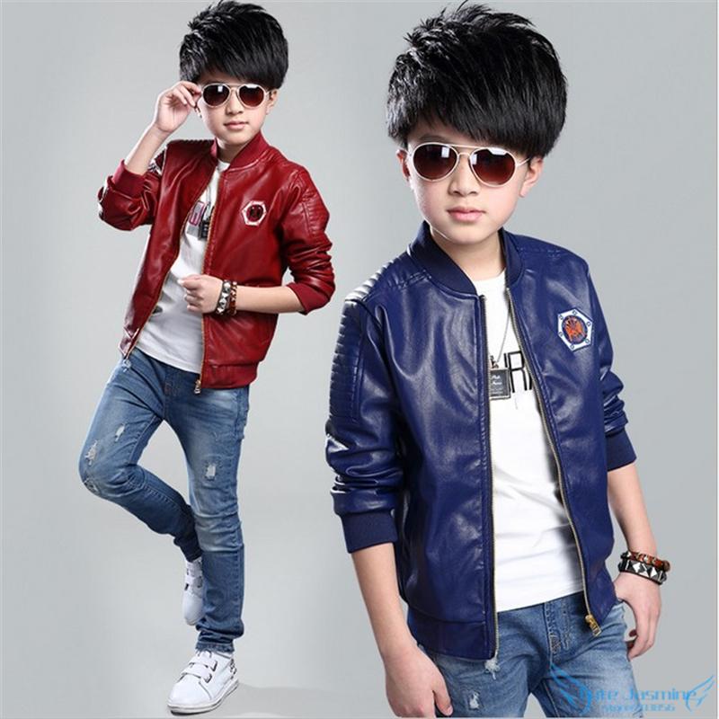boys leather bomber jacket page 1 - blazer