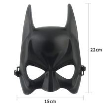 1pcs Hot Halloween Batman Mask Adult Black Masquerade Party Carnival Dressing Upper Half Face Mask For Man Cool Face Costume Kit(China (Mainland))