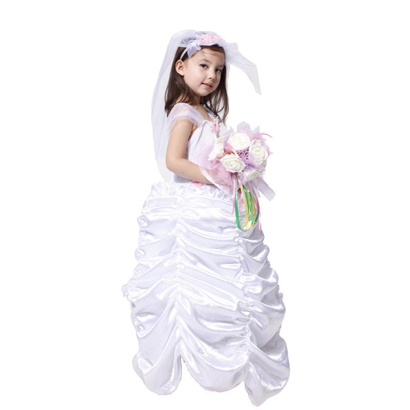 dress for girls wedding bride costume for girls carnival costumes