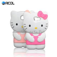 3D Cute Hello Kitty Soft Case iphone 4S 5S SE 5C 6 6S Plus/Samsung Galaxy S2 S3 S4 S5 S6 Edge S7 Egde J1ace J5 J7 A5 A7 2016 - Aicol Electornics Co,.Ltd store