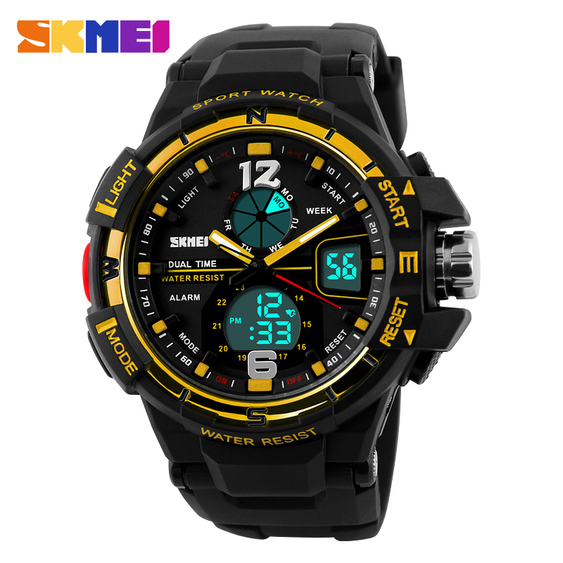 2016 SKMEI Mens LED Digital Watch Men Sports Watches Reloj Fashion Casual Relogio Masculino Clock Outdoor Military Wristwatches<br><br>Aliexpress