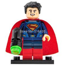 DC Super Heroes Batman vs. Superman Minifigures Building Blocks Superman Single Sale Sets Model Bricks Toys Figures