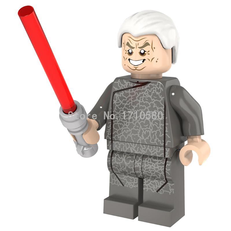 POGO Kanzler Palpatine Minifigure PG663 Single Sale Star Wars Starwars Mini Constructing Block Toys Christmas Items Set 75044