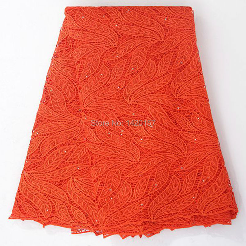 Здесь можно купить  Free shipping top-selling gorgeous leaf African Lace Fabrics, Guipure Lace Fabric Chemical Lace Water Soluble Lace orange Free shipping top-selling gorgeous leaf African Lace Fabrics, Guipure Lace Fabric Chemical Lace Water Soluble Lace orange Дом и Сад