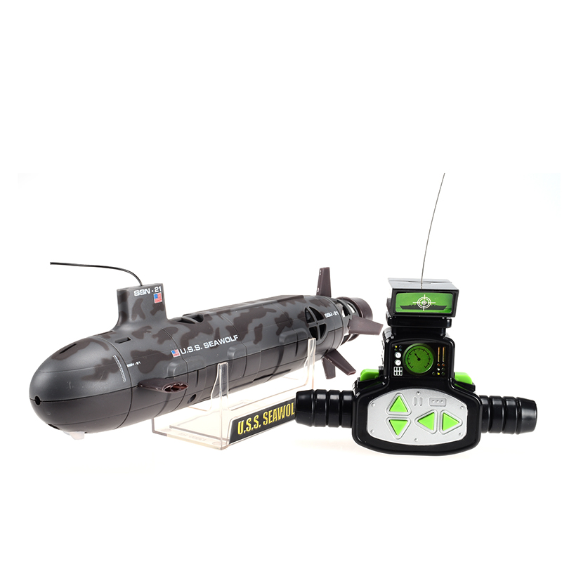 13000 U.S.S Seawolf 6-Channel Remote Control Large Submarine Model Nuclear Energy Navy Rc Motorboat Diving Electric Toy(China (Mainland))