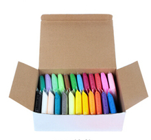 Ultra-light clay 24 plasticine color clay set eco-friendly space paper clay toy