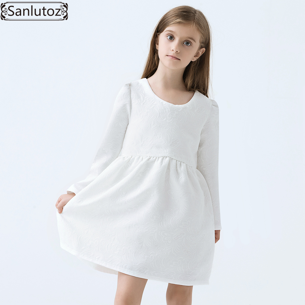 Childrens White Dress   Cocktail Dresses 2016