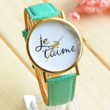 2015 Hot Summer Watch Female personality leather watch High quality variety of colors quartz watches Round