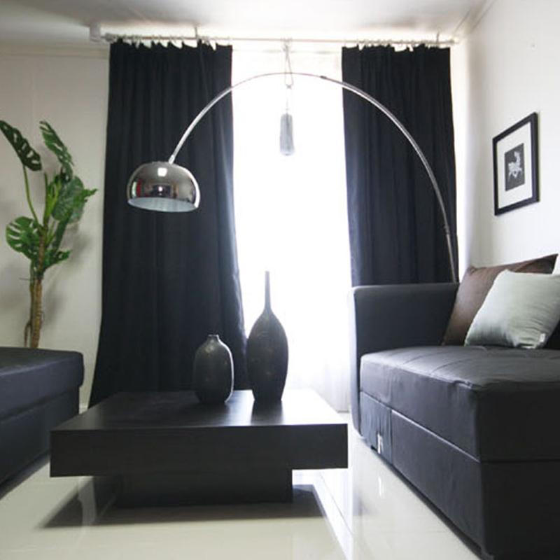 Schwarz Schlafzimmer Vorhänge Werbeaktion-Shop Für