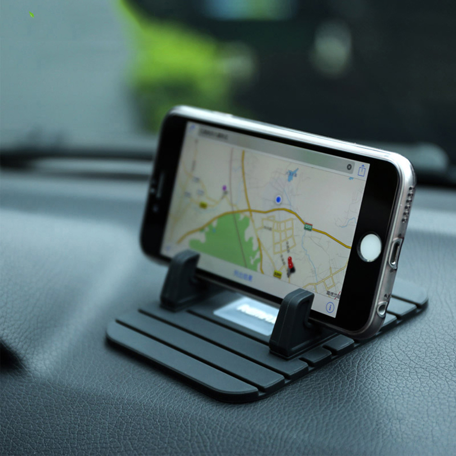 Car Styling Auto Car Phone Holder Stand GPS Dashboard Silicone Mount Iphone 4 5 6 7 Samsung Xiaomi Car Phone Accessories