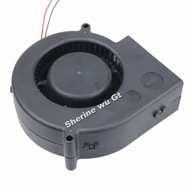 20pcs/lot GDT DC 12V 2P Air Cooling Blower Fan 97*97x33mm 9733 turbine Cooler 9733s air blower(China (Mainland))