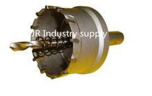 40 mm core drill bit 1 unids acero de tungsteno agujero metal de la aleación de diámetro fijo 10 mm utilización de acero inoxidable especial