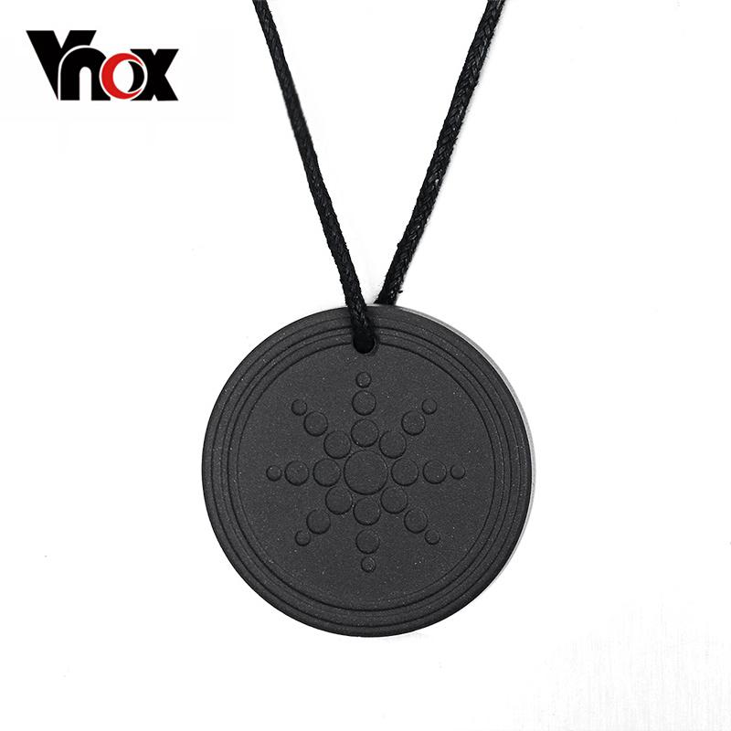 Vnox Quantum Scalar Energy Pendant 2000 ~ 3000 ions Energy Power Trendy Men Jewelry(China (Mainland))