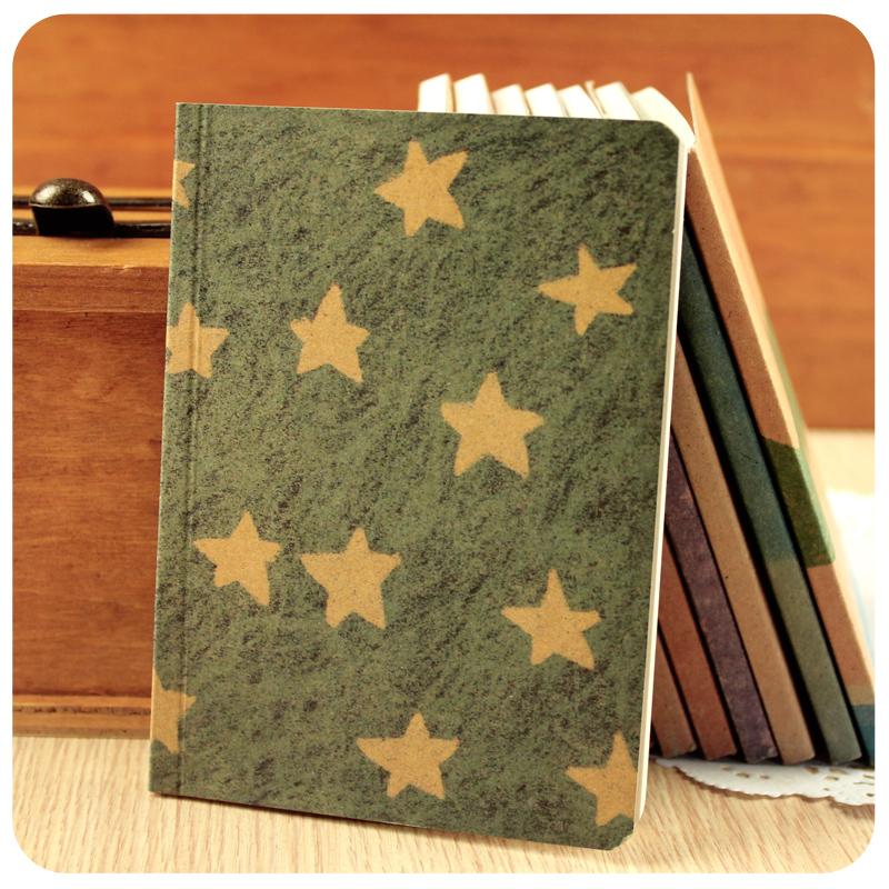 Гаджет  Stationery small blank book notebook European retro creative cute draw the hand-painted graffiti sketchbook None Офисные и Школьные принадлежности